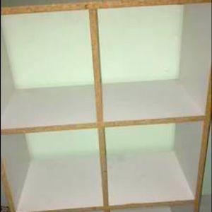 8 shelves